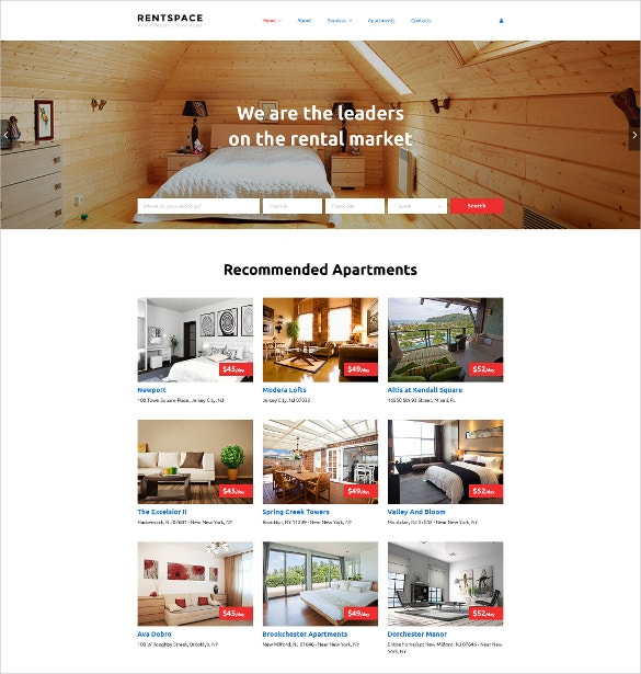 Real Estate Responsive HTML5 Website Template
