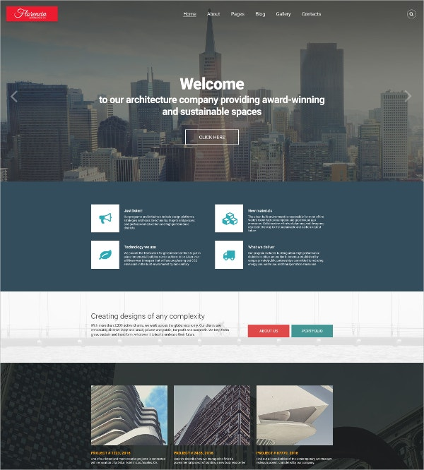 Architecture Responsive HTML5 Joomla Template