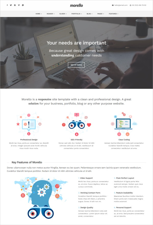 multipurpose business html5 template1