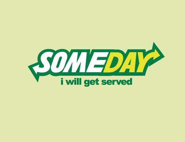 Funny SubWay Logo Parody