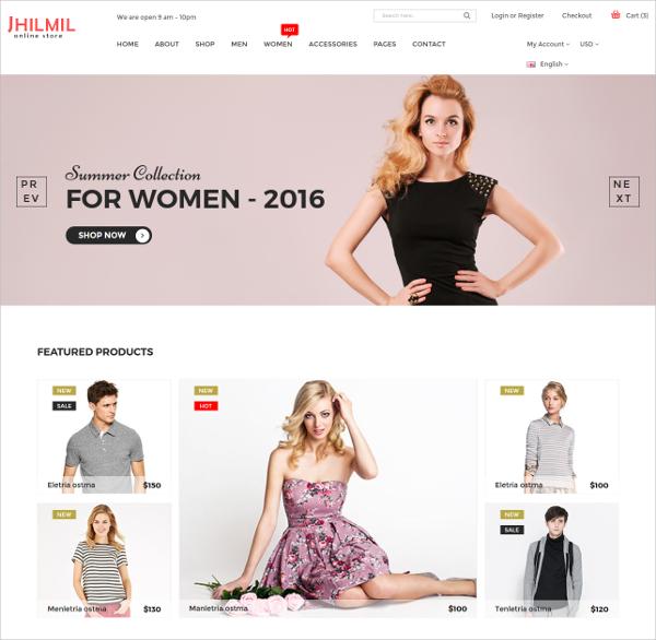 eCommerce Bootstarp Template