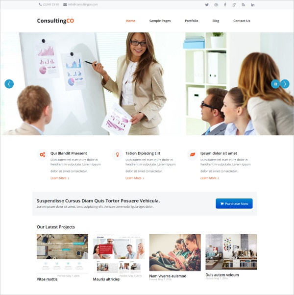 Responsive Consulting WP Theme