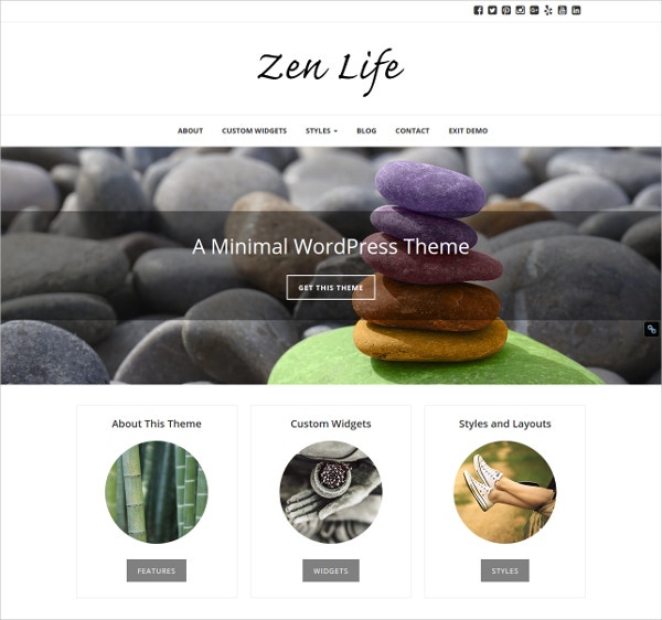 Beautiful Life WordPress Theme