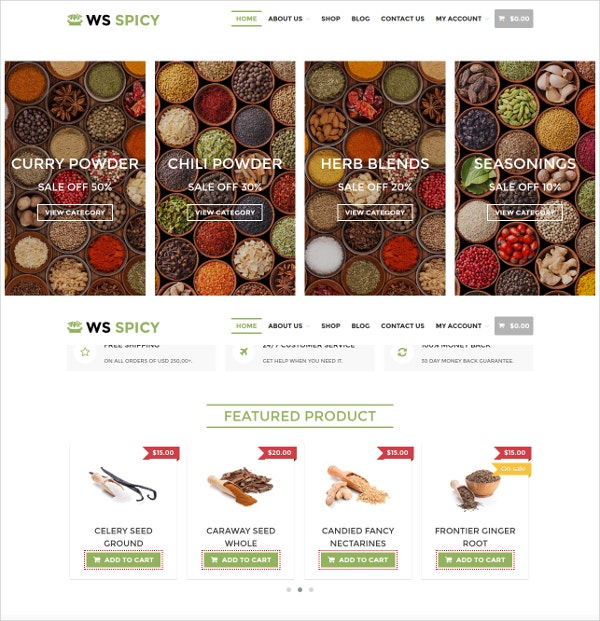 Different Recipe WordPress Theme