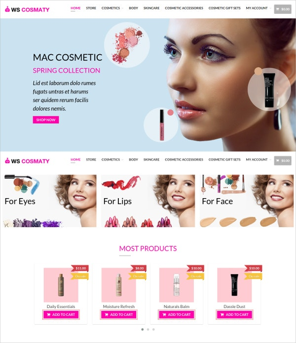 Cosmaty WordPress Template