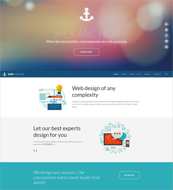 Web Design Responsive Joomla Blog Template