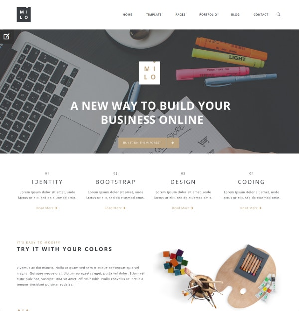 Clean & Modern Multi-Purpose Joomla Template