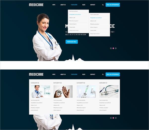 responsive medical servicejoomla template