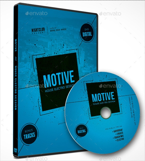 music dvd cover template