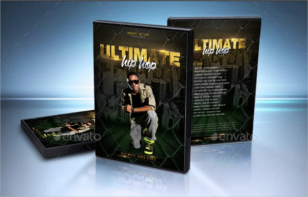 Hip Hop Ultimate Vibes DVD Cover Template
