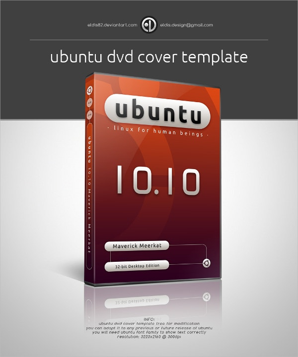 free sample format dvd cover template