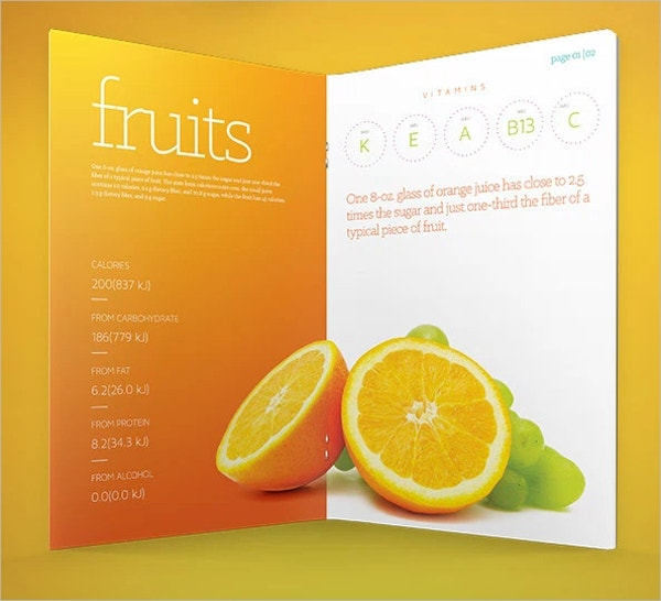 Fresh Brochure PSD Template