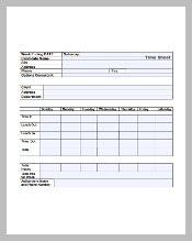 Numbers Timesheet Template Excel Format
