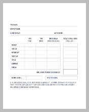 Weekly HR Timesheet Template Download