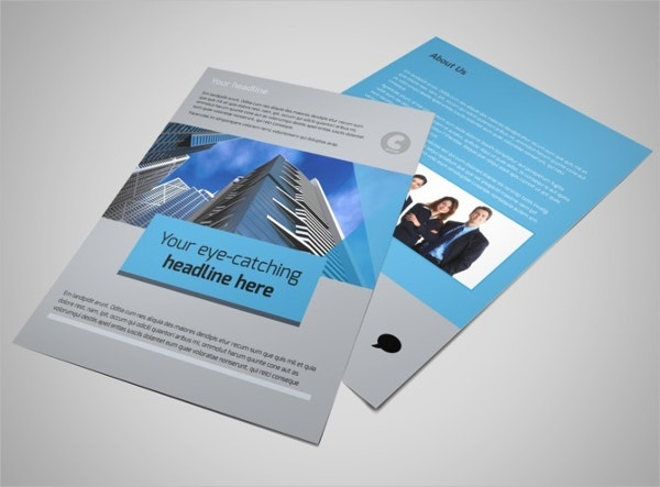 Investment Bank Flyer Template