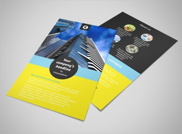 Investment Advisor Flyer Template