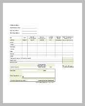 Overtime Sheet Template Download