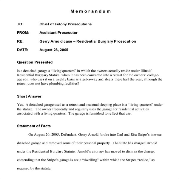 Sample Internal Memo Legal Memorandum Sample Pdf Legalinternalmemo