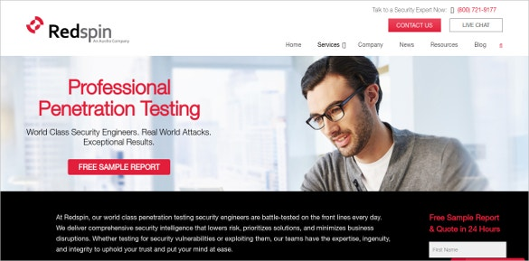 Redspin Professional Penetration Testing
