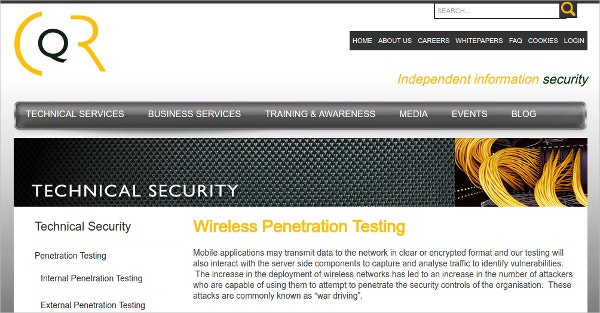 Wireless Penetration Testing Tool- CQR