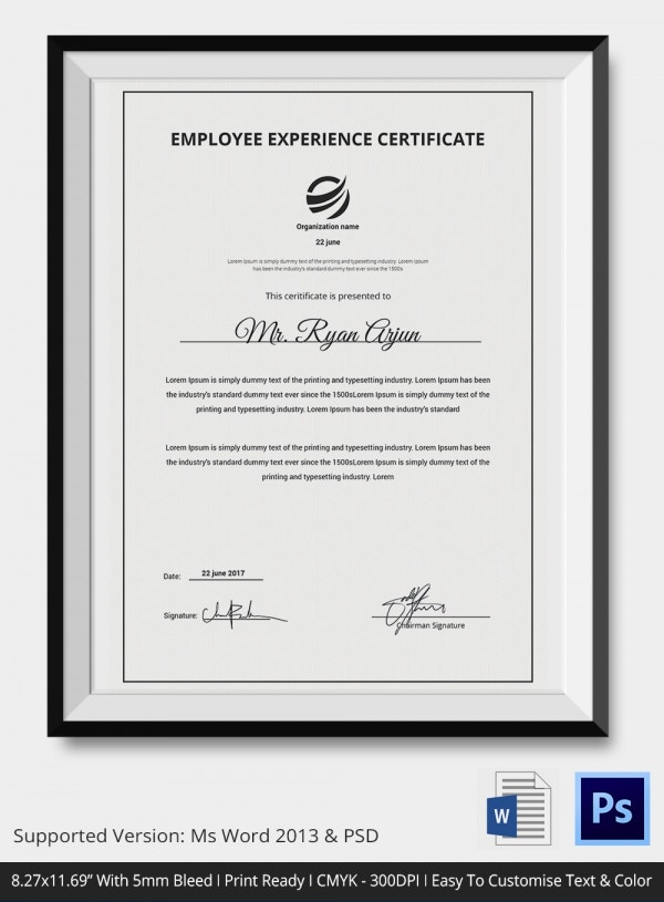Certificate of service template 11 free word pdf for Certificate of conformance template word