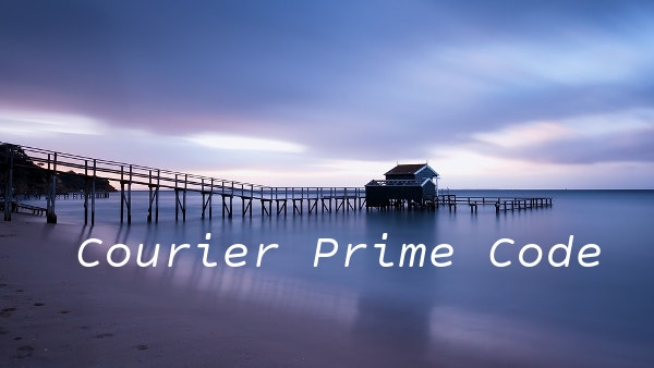 courier prime code