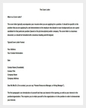 Business Cover Letter Template in Doc