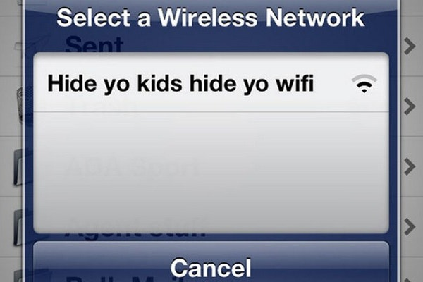 Hide Yo Kids Hide Yo WiFi