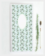 Flowers Design Printable Binder Cover Example Foramat