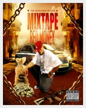 Green Money Mixtape Hip Hop Template Sample
