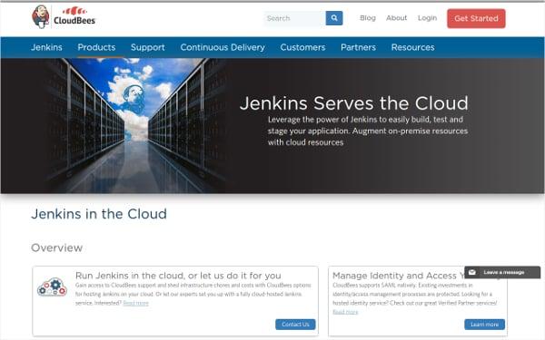 jenkins serves the cloud testing