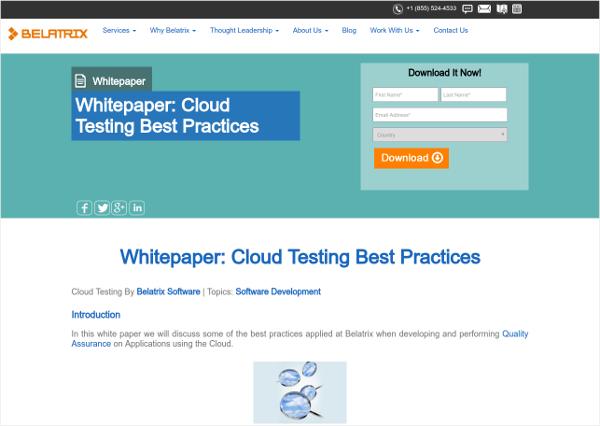 belatrix software cloud testing best practices