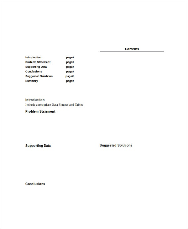 Paper Template   Free Word Pdf Documents Download  Free