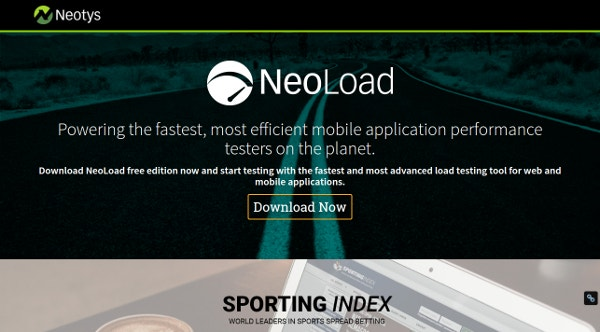 NeoLoad Mobile App Load Testing Tool
