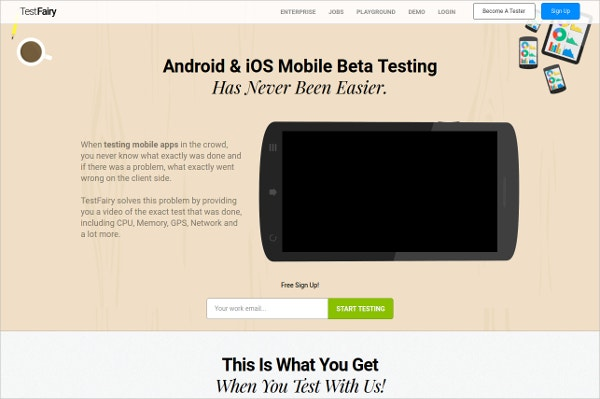 TestFairy Android & iOS Mobile Beta Testing Tool