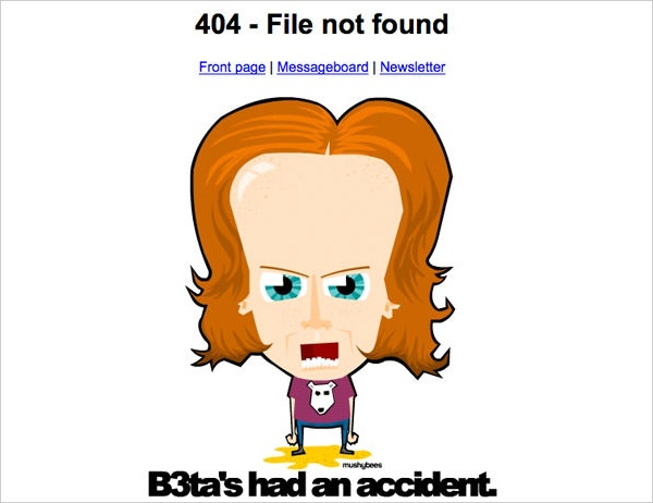 B3ta - 404 File Not Found