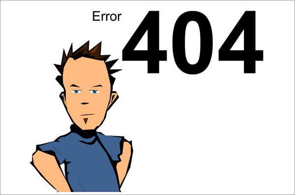 ferdaze error 404 page