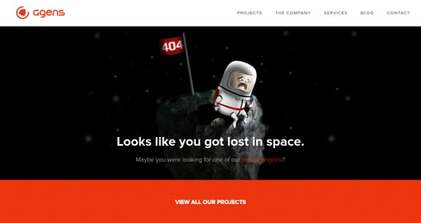 Agens - 404 Got Lost in Space