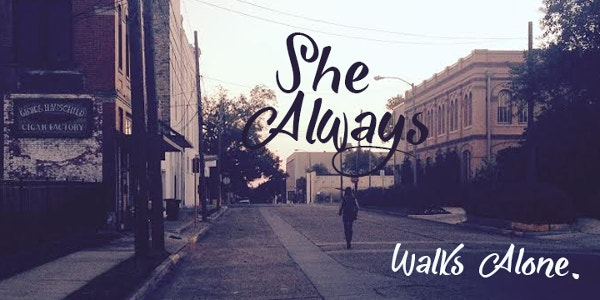 She Always Walks Alone Font Download