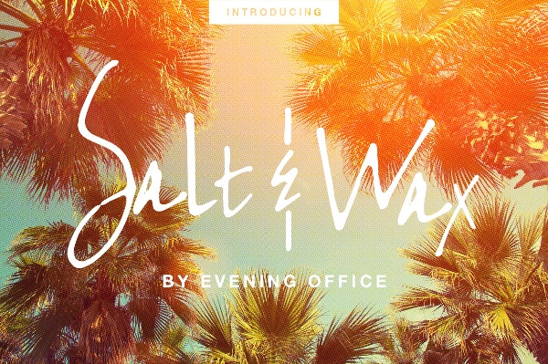 Salt & Wax Handwritten Font OTF