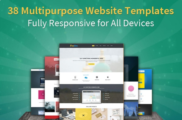 Bootstrap 3 Templates Deal from B3Themes (38 Templates for $24)