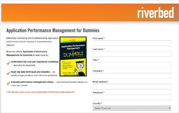 Riverbed Application Performance Management Monitoring
