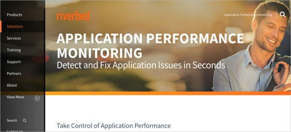 Application Performance Monitoring Tool - Riverbed