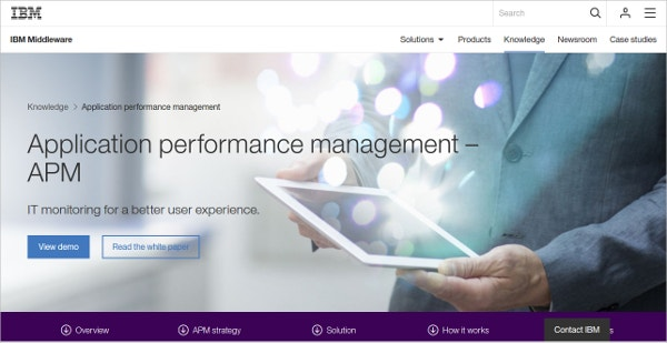 Application Performance Management – IBM Monitoring Tool