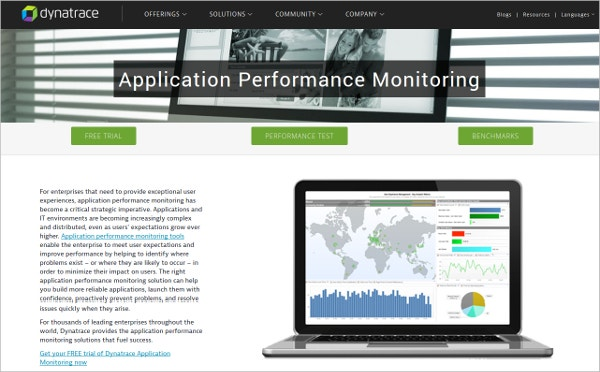 Dynatrace - Application Performance Monitoring Tool