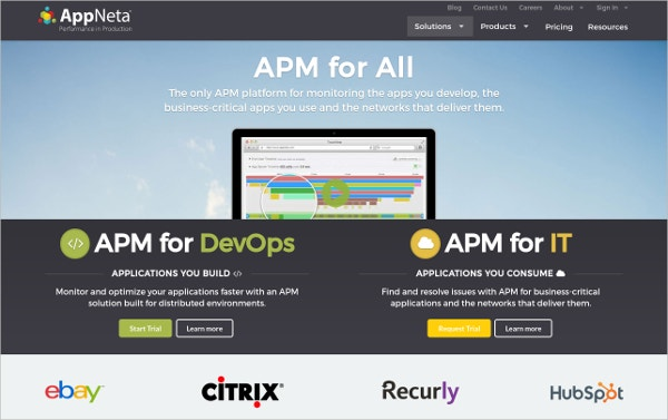 AppNeta APM for All Applications