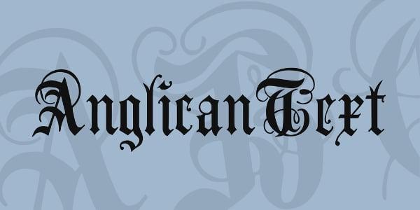AnglicanText Font