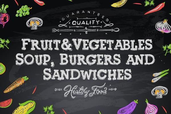 Chalkboard Typeface OTF Font