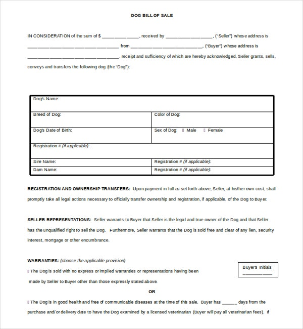 14 Bill of Sale Templates Free Sample Example Format – Legal Bill of Sale Template