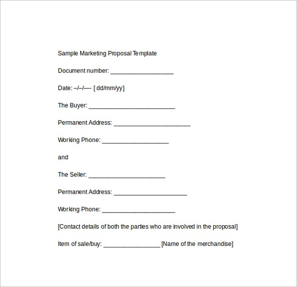 sample marketing proposal template download1